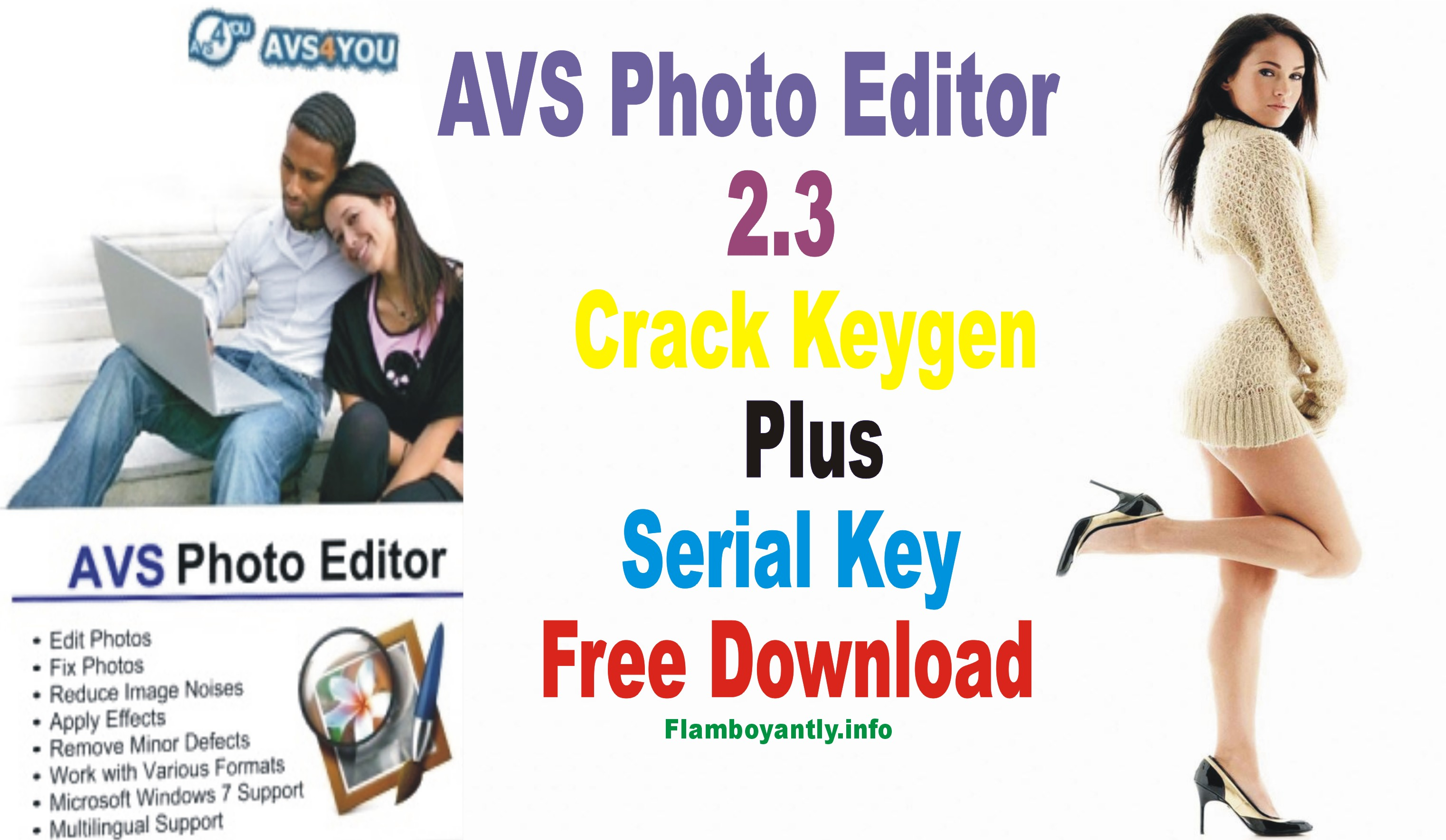 AVS Photo Editor 2.3 Crack Keygen Plus Serial Key Free Download