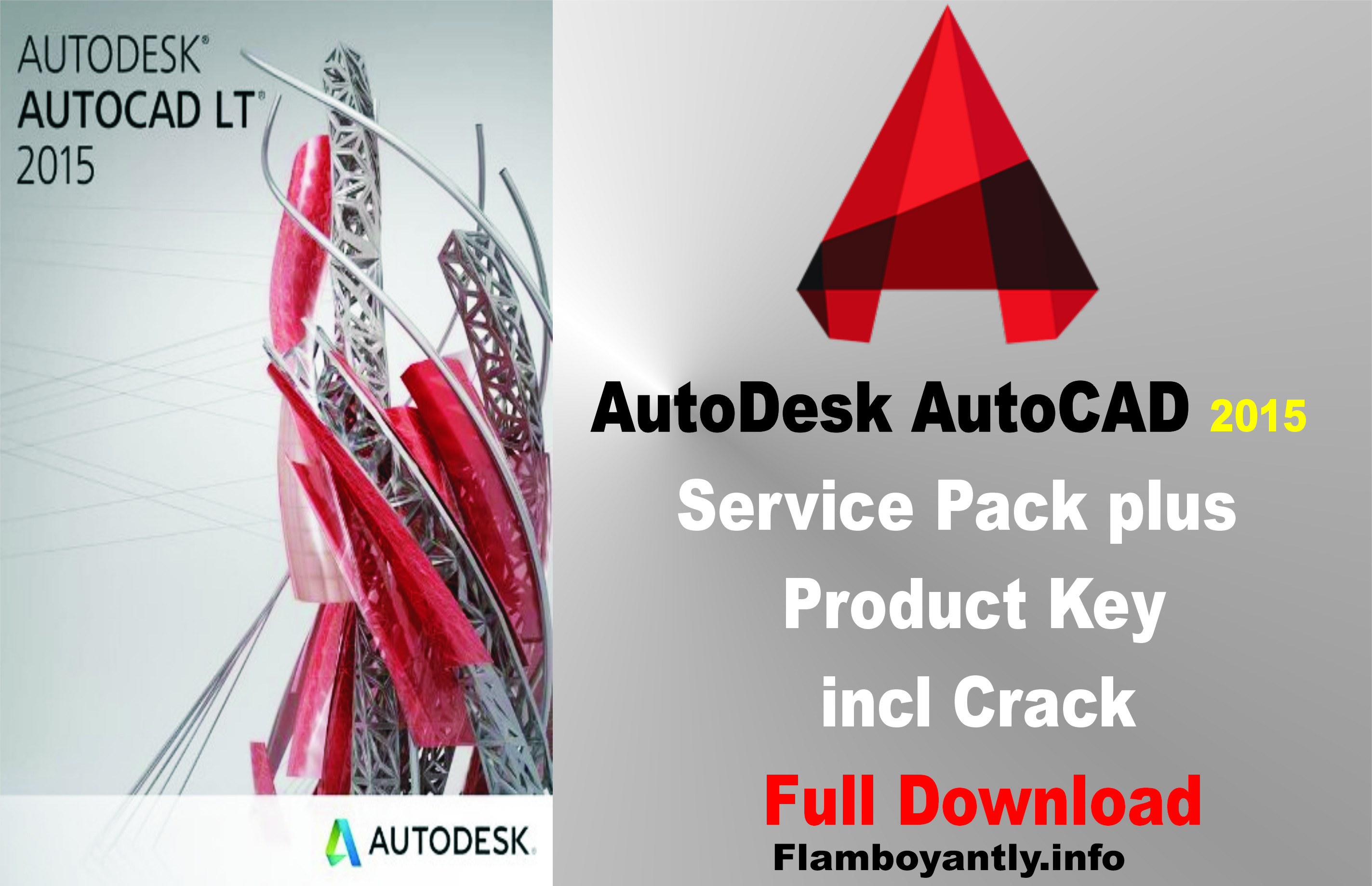 AutoDesk AutoCAD 2015 Service Pack plus Product Key incl Crack Full Download