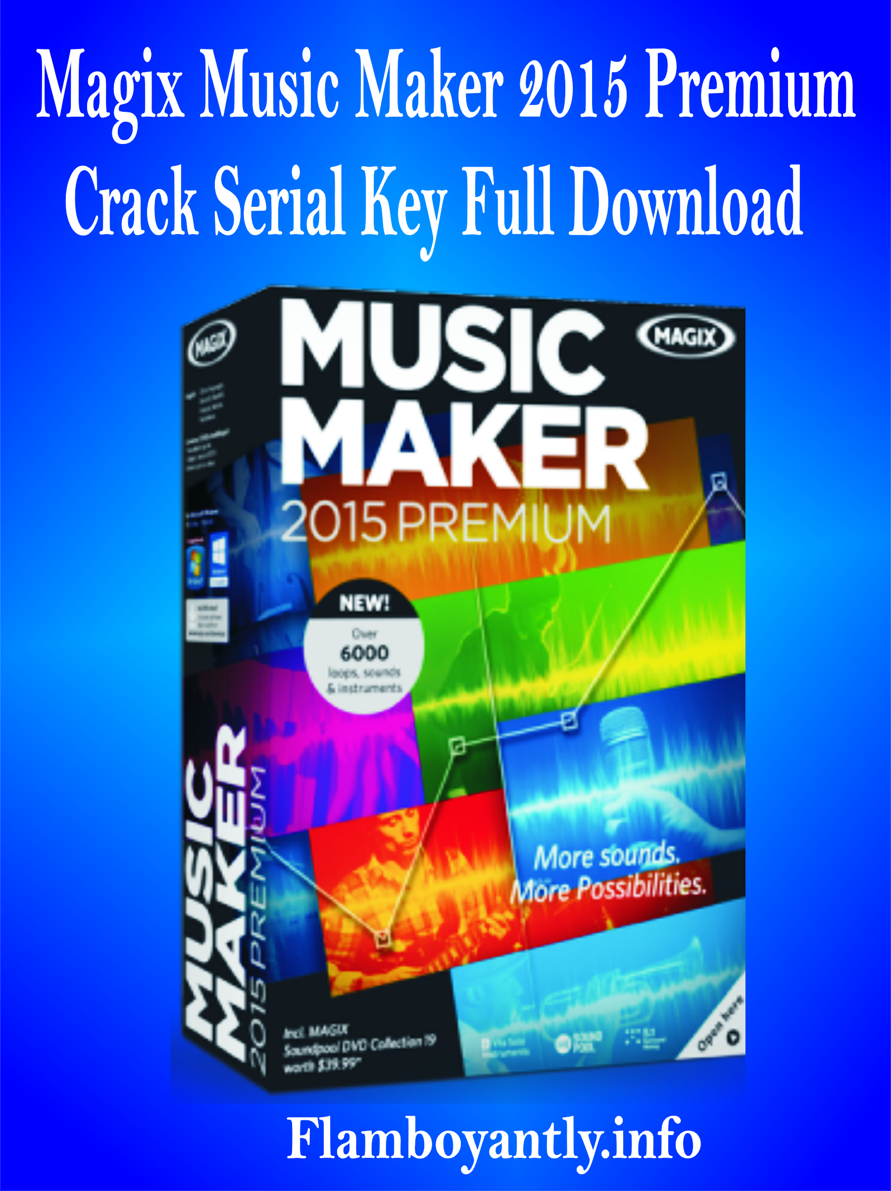 Magix Music Maker 2018 Premium Crack + Serial Key Full Download
