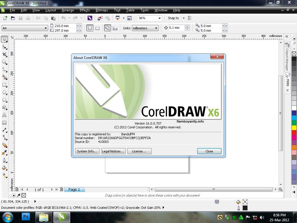 CorelDraw Graphics Suite X6 Keygen Plus Serial Number Full Download