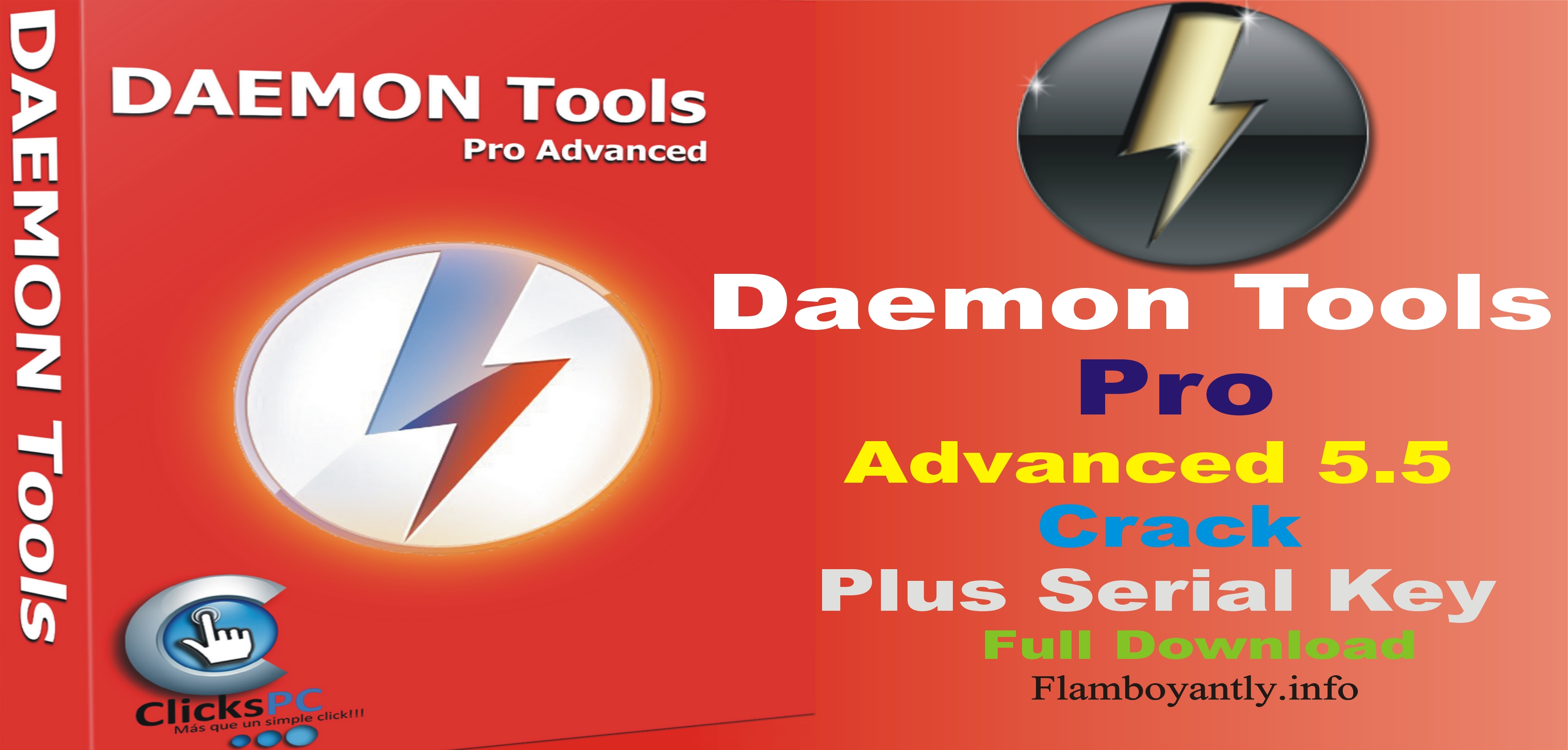 Daemon Tools Pro Advanced 5.5 Crack Plus Serial Key Full Download