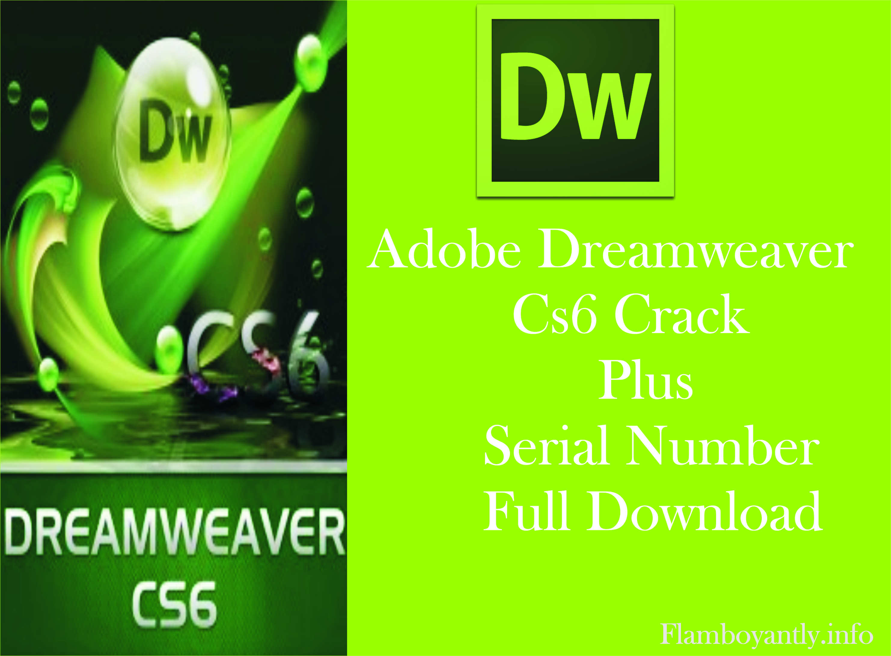 Adobe Dreamweaver CS6 Crack Plus Serial Number Full Download