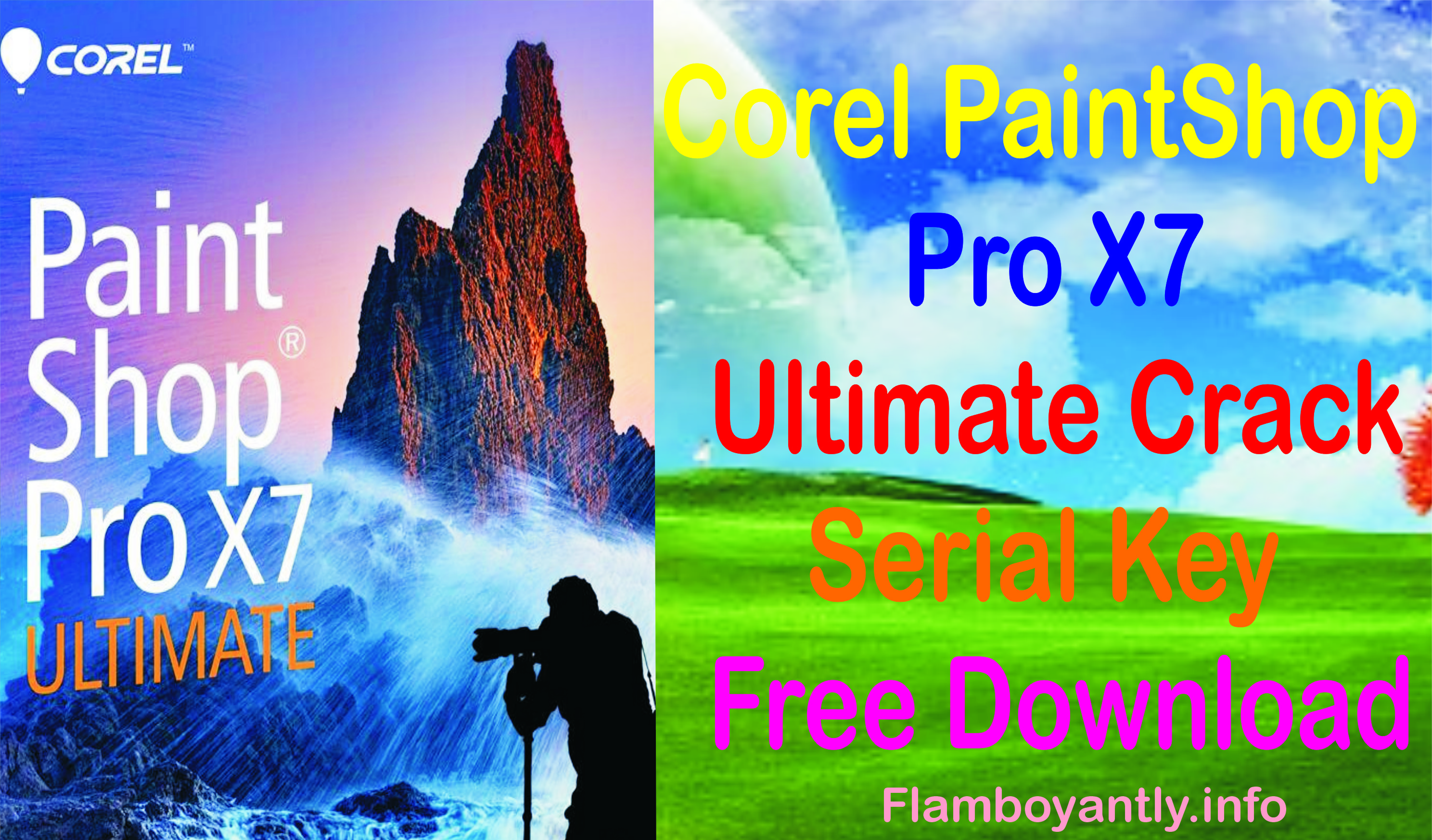 Corel PaintShop Pro X7 Ultimate Crack Serial Key Free Download