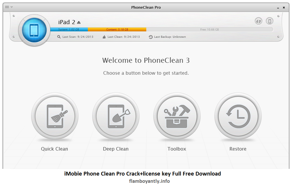 iMobie Phone Clean Pro Crack+license key Full Free Download