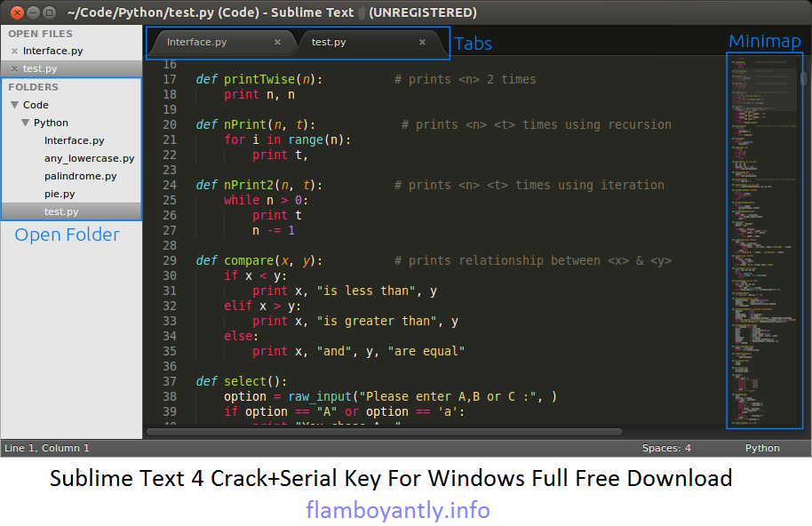 sublime text editor for windows free