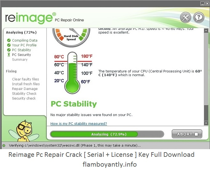Key Features Of Reimage PC Repair License Key Full Version