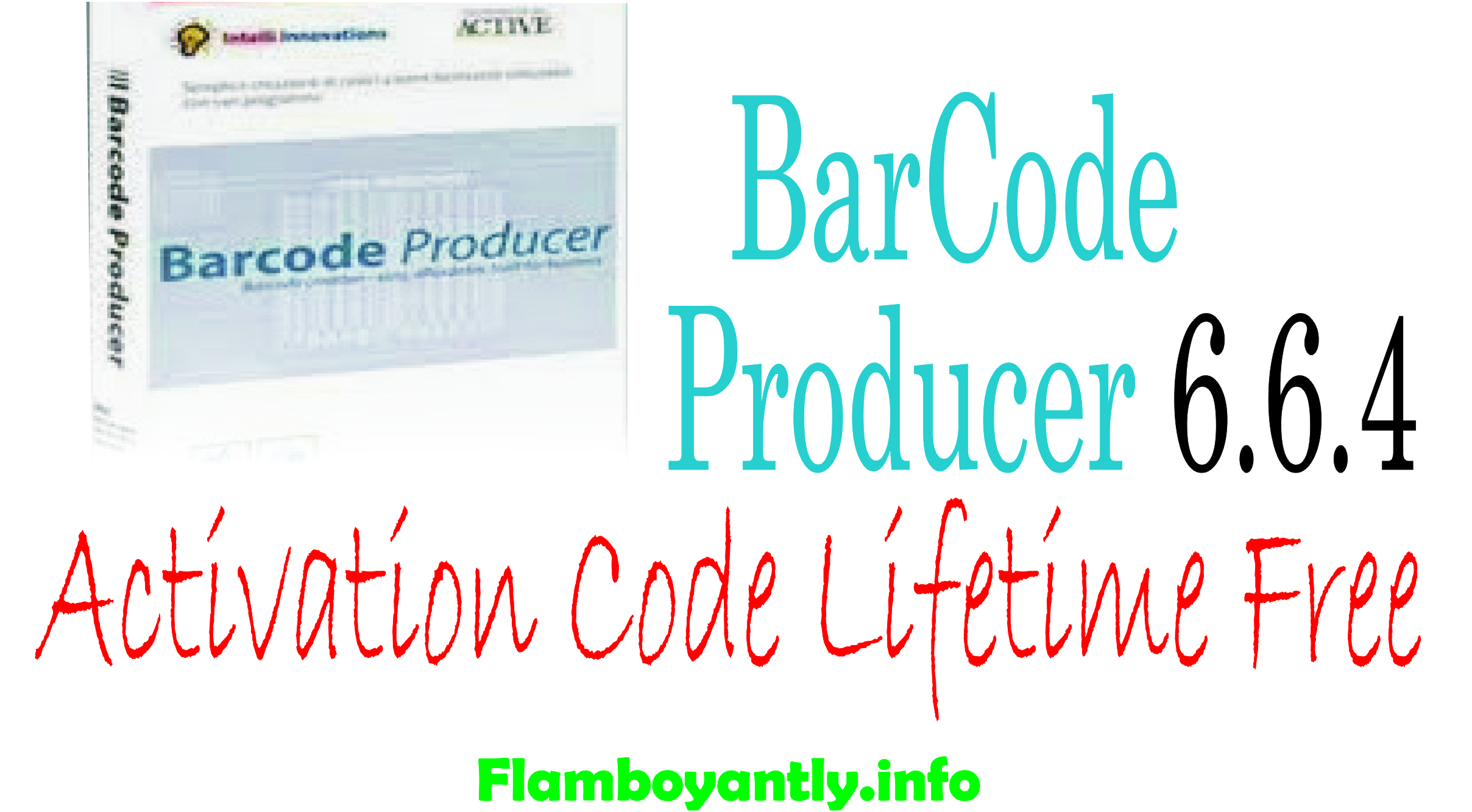 BarCode Producer 6.6.4 Activation Code Lifetime Free