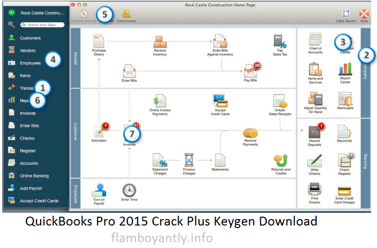 QuickBooks Pro 2015 Crack Plus Keygen Download
