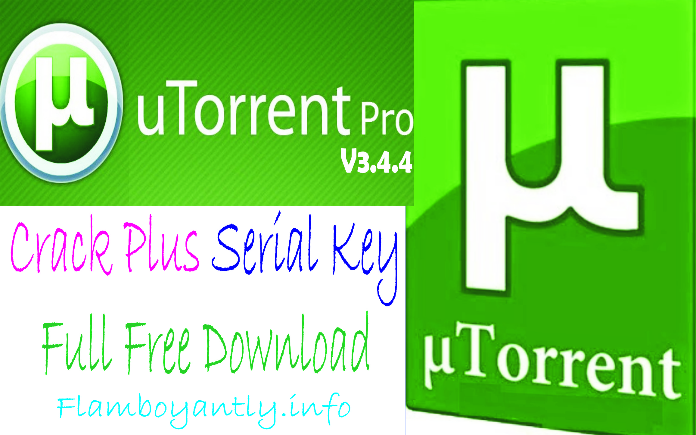 UTorrent Pro V3.4.4 Crack Plus Serial Key Full Free Download