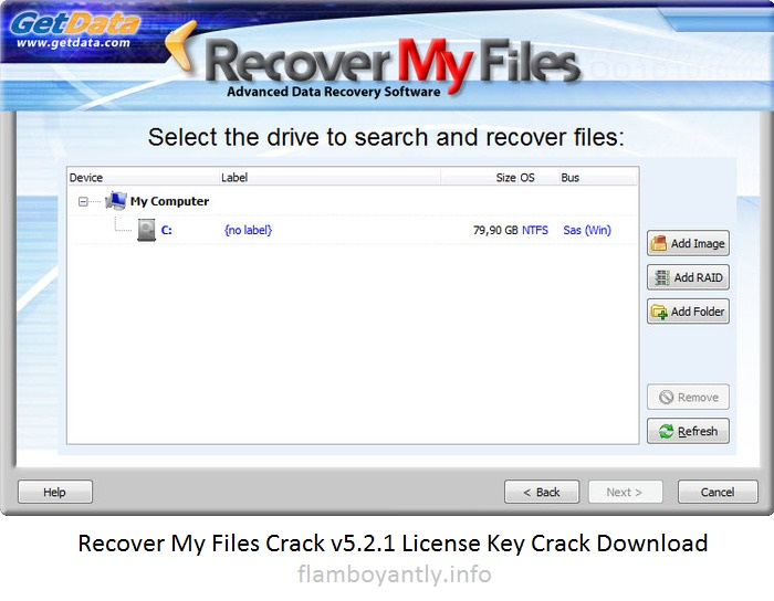 crack recovery my file v5