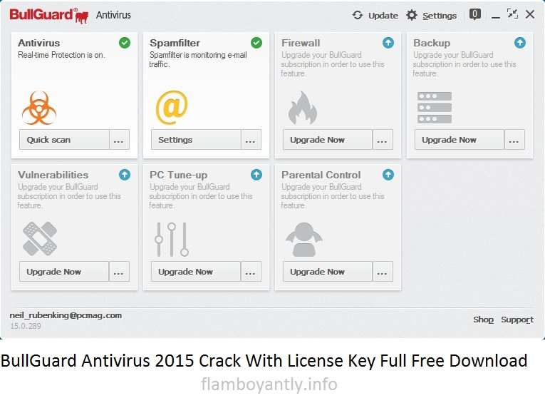BullGuard Antivirus 2015 Crack With License Key Full Free Download