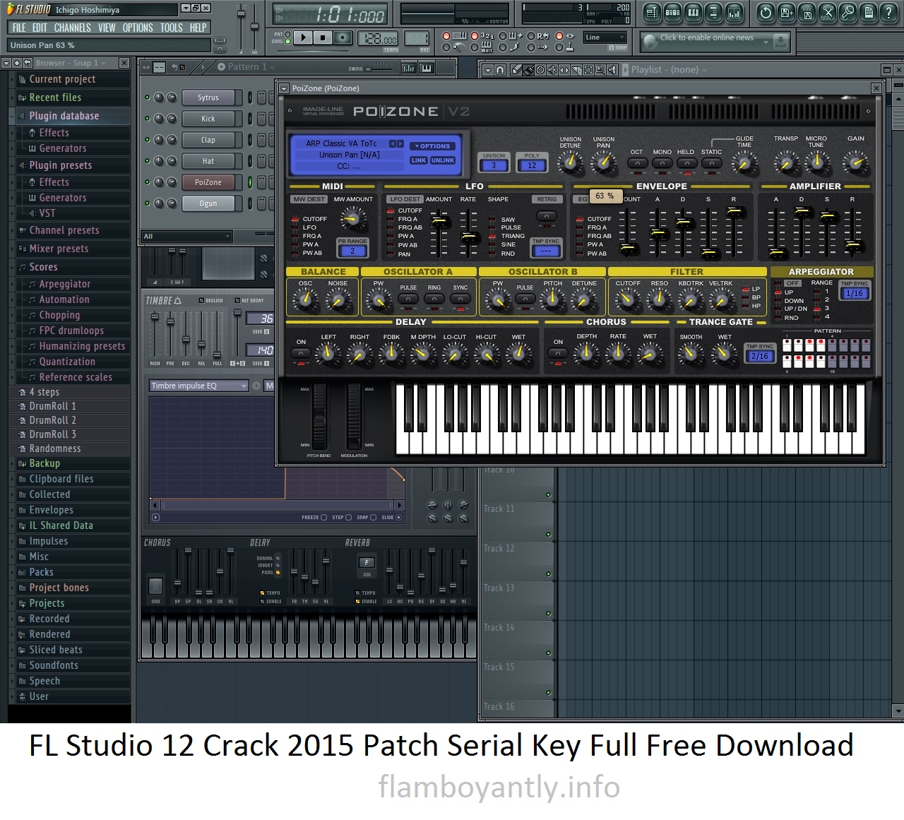 FL Studio 12 Crack 2015 Patch Serial Key Full Free Download