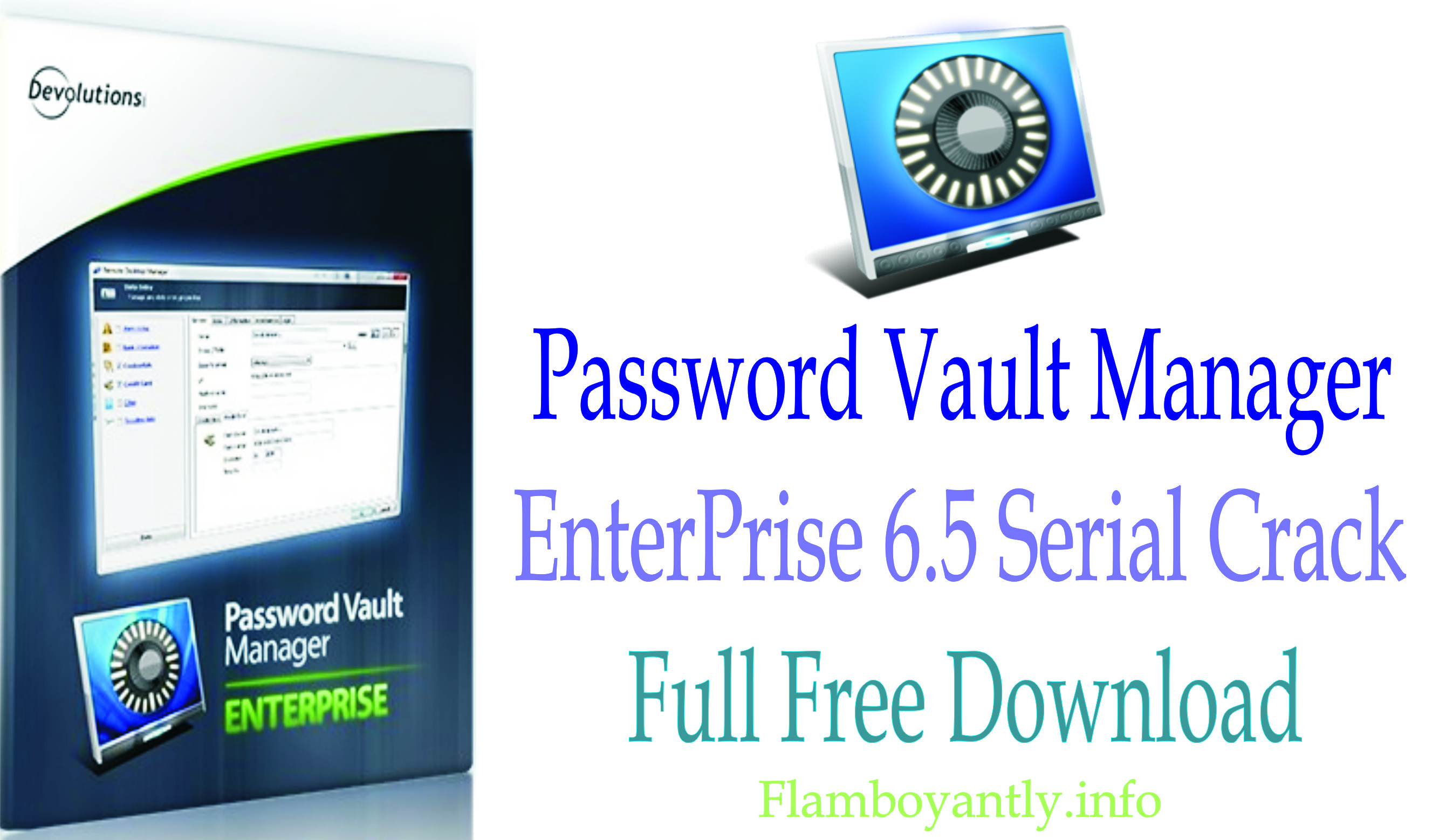 Password Vault Manager EnterPrise 6.5 Serial Crack Full Free Download