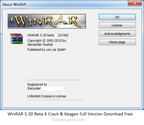 WinRAR 5.30 Beta 4 Crack & Keygen Full Version Download Free