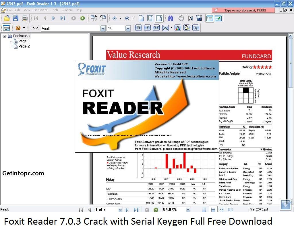 Foxit Reader 7.0.3 Crack with Serial Keygen Full Free Download