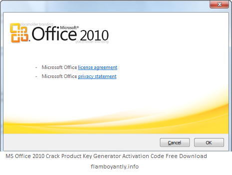 microsoft office free trial product key 2010