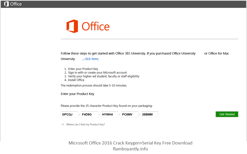 microsoft office 2015 free download with key