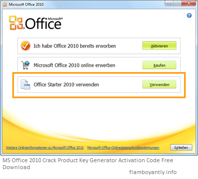 office 2010 license key generator
