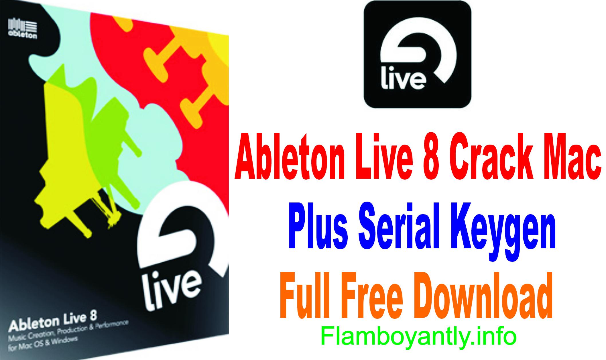 ableton live 8 serial