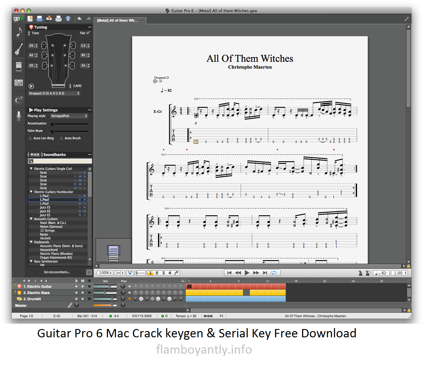 guitar pro free download full version crack
