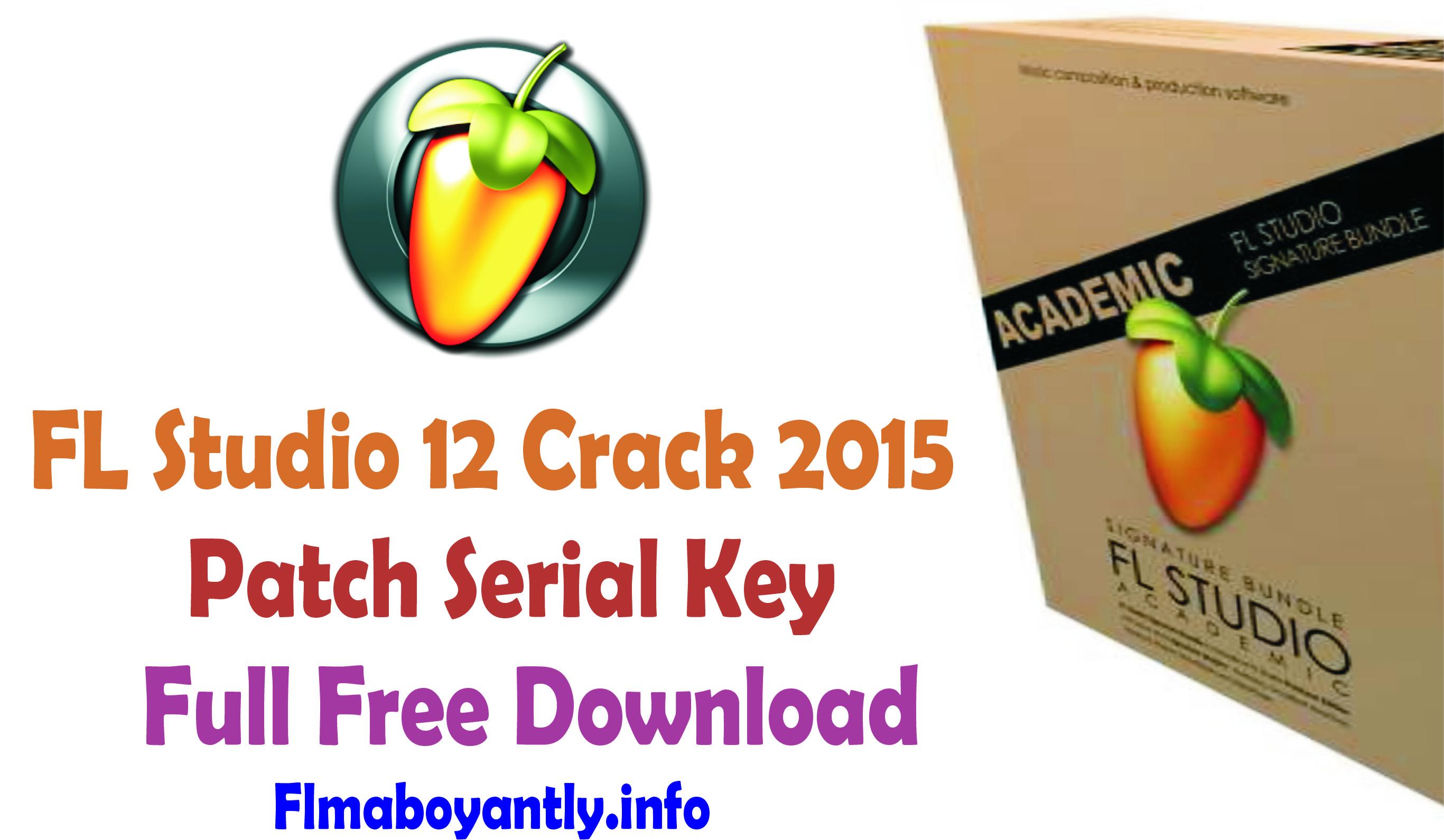 fl studio 12 serial key