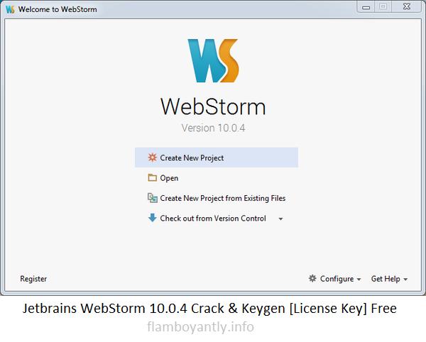 jetbrains webstorm license